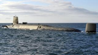 HMS Victorious (Trident Nuclear Submarine)