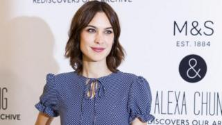 Alexa Chung launches her womenswear collaboration with Marks and Spencer