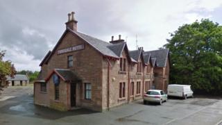 tarradale hotel in muir of ord cordoned off by police. Black Bedroom Furniture Sets. Home Design Ideas