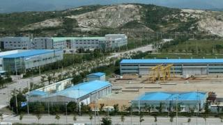 Part of Kaesong industrial complex (file image)