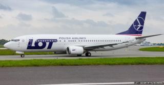 Image of LOT plane