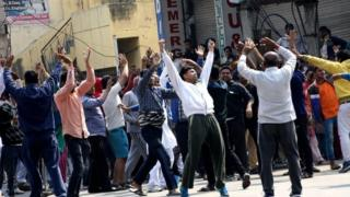 Jat protesters in Haryana