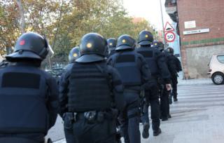 Police siege