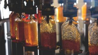 Scotch whisky bottling plant