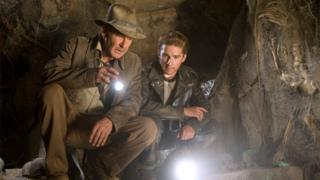 Harrison Ford and Shia LaBeouf in Indiana Jones and the Crystal Skull