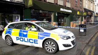 McDonalds, The Drapery