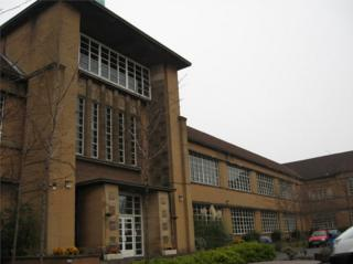 Notre Dame High School in Glasgow, designed by TS Cordiner and built just after the war