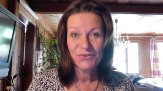 Alison Chabloz in a video posted on YouTube