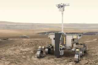 Artwork: ExoMars rover