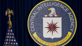 CIA's seal at the US intelligence agency's headquarters in Langley, Virginia. File photo
