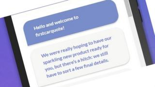 Firstcarquote website