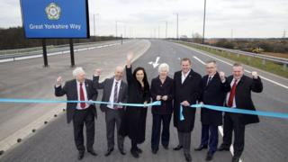 Great Yorkshire Way official opening