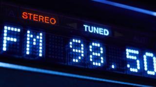 FM on a radio