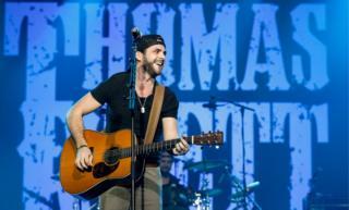 Thomas Rhett performing live