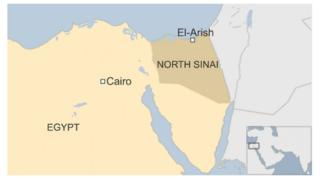 Map of Sinai