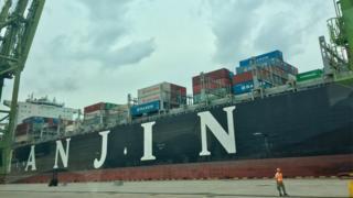 Hanjin ship