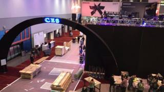 CES exhibition hall