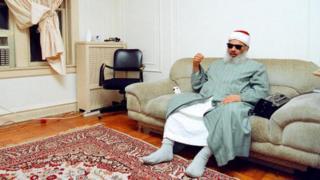 Sheikh Omar Abdel Rahman in New York in 1993