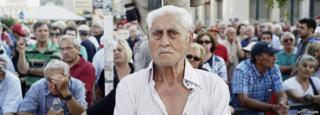 Greek pensioner