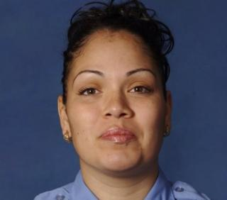 Fire Department of New York emergency medical technician Yadira Arroyo is seen in this photo.