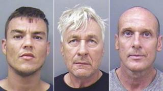Michael McDermott, David Pleasants and Gerald Van de Kooij