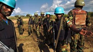 UN peacekeepers in South Sudan
