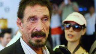 "John McAfee has said he will decrypt the phone ""for free"""