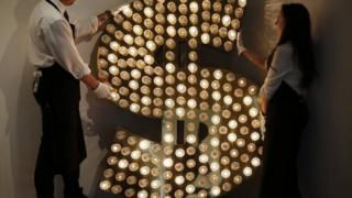 dollar sign in lights