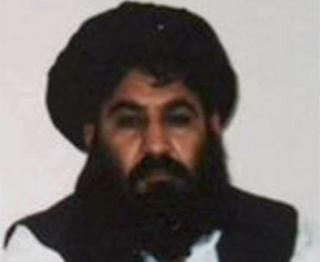 Mullah Akhtar Mohammad Mansour, new leader of the Taliban militants, is seen in this undated handout photograph by the Taliban