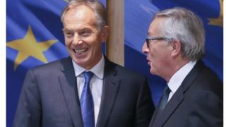 Blair and Juncker