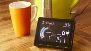 Smart meter display