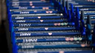 Tesco trolley