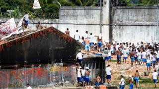 Compaj, penitenciária em Manaus
