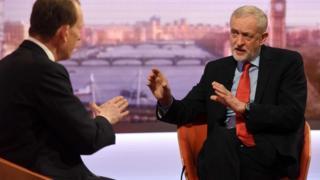 Andrew Marr interviews Jeremy Corbyn