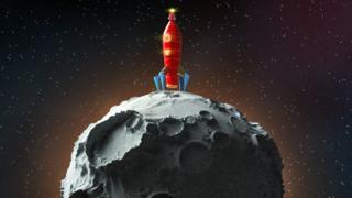 Foguete na lua