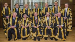 All 11 Supreme Court justices