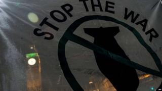 Stop The War banner