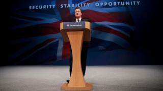 David Cameron speech