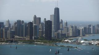 Chicago skyline (file photo)
