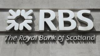 Sign for Royal Bank of Scotland (RBS)
