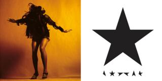 Covers for Everything You've Come to Expect by The Last Shadow Puppets and Blackstar by David Bowie