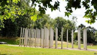 7 July memorial in Hyde Park, London