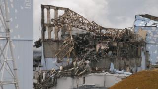 The stricken Fukushima power plant in Japan