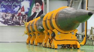 Iranian ballistic missile (file photo)