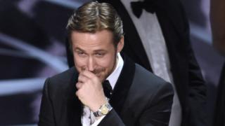 Ryan Gosling during a Oscars