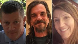 (From left) PC Keith Palmer, Kurt Cochran and Aysha Frade all died in the attack