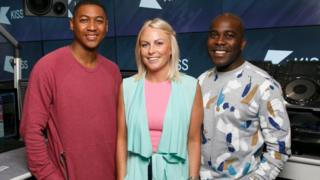 Rickie Williams, Charlie Hedges and Melvin Odoom