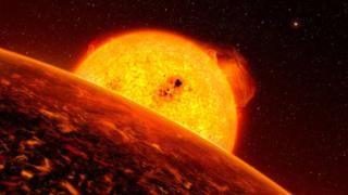 The first super-Earth identified as a rocky exoplanet