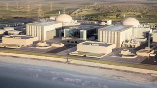 Hinkley Point - artist's impression