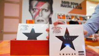 "The new album of British singer David Bowie ""Blackstar"""